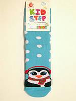 Теплые детские носочки с пингвином