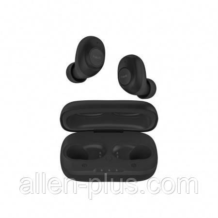 Наушники-гарнитура внутриканальные (вакуумные) беспроводные Bluetooth HAVIT TW901, black, with charger