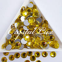 "Стрази ss30 Citrine (6.5 мм) 280шт ""Crystal Premium"""