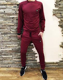 Спортивный костюм мужской Under Armour бордовый размер S
