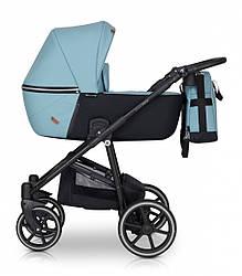 Детская коляска универсальная 2 в 1 Verdi Verano 02 blue (Верди Верано, Польша)