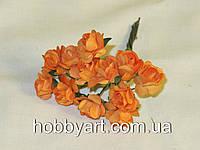 Цветочки бумажные 1-1,5см (12шт), фото 1