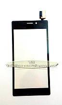 Сенсорный экран Sony D2302 Xperia M2 Dual, D2303 Xperia M2, D2305 Xperia M2, D2306 Xperia M2, черный