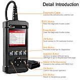 Оригинал X431 LAUNCH Creader 5001 OBD2 CR5001 Автосканер .русский язык  Цветной дисплей . для диагностики авто, фото 4