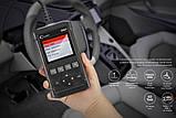 Оригинал X431 LAUNCH Creader 5001 OBD2 CR5001 Автосканер .русский язык  Цветной дисплей . для диагностики авто, фото 5