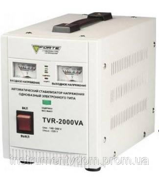 Стабилизатор напряжения FORTE TVR-2000VА (релейный)