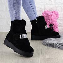 Женские зимние ботинки Indigo черные, фото 9
