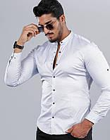Біла сорочка воріт стійка, малюнок