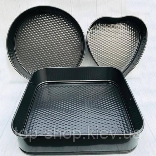 Формы разьемные для выпечки тортов А-PLUS (1280)