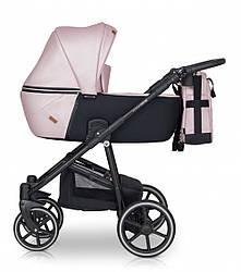 Детская коляска универсальная 2 в 1 Verdi Verano 03 pink (Верди Верано, Польша)