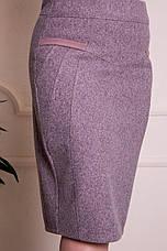 Юбка женская теплая кашемировая ( 48,50,52,54,56,58,60,62 р-р ), фото 3