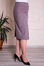 Юбка женская теплая кашемировая ( 48,50,52,54,56,58,60,62 р-р ), фото 2
