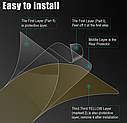 Гидрогелевая задняя пленка для iPhone 11 Pro Max \11 Pro\11 гидрогель, фото 3