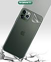 Гидрогелевая задняя пленка для iPhone 11 Pro Max \11 Pro\11 гидрогель, фото 4