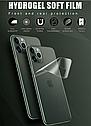 Гидрогелевая задняя пленка для iPhone 11 Pro Max \11 Pro\11 гидрогель, фото 5