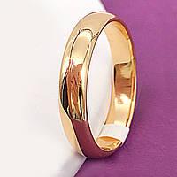 Кольцо обручальное классика 5мм xuping 17, 23, 24р. медзолото 8319