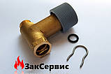 Кран подпитки на газовый котел Ferolli Domitop C/F 24-30 Е new39811540 39404110, фото 5