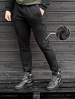 Теплые спортивные штаны BEZET Basic black черные