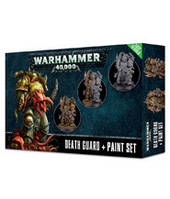 Вархаммер 40000 Чумные Десантники Гвардии Смерти + Набор красок Цитадель (Warhammer 40000 Citadel Death Guard & Paint Set) настольная игра