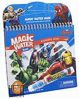 """Многоразовая водная раскраска Magic Water,""""Супергерои"""" 2004A-1"""