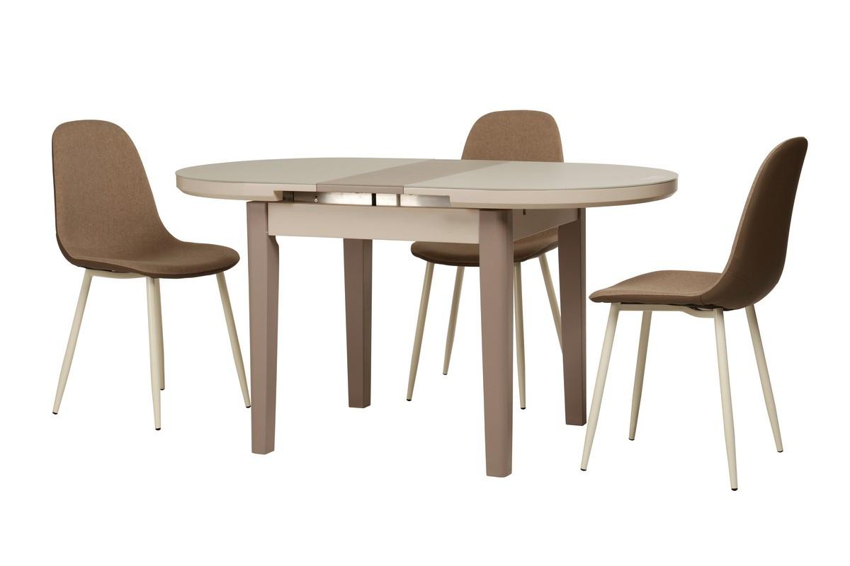 Обеденный стол TM-75 капучино-латте