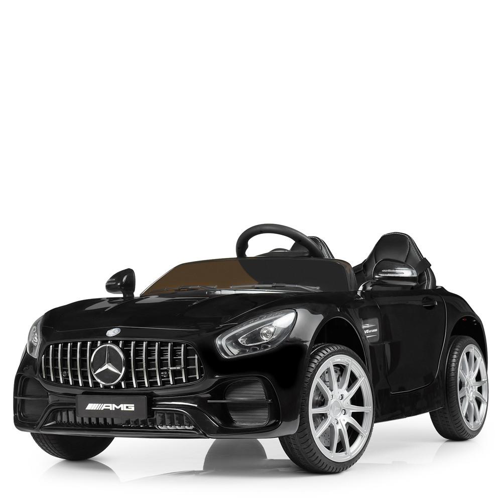 Детский электромобиль Mercedes M 4158EBLR-2 Черный Гарантия качества Быстрая доставка