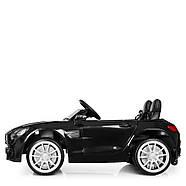 Детский электромобиль Mercedes M 4158EBLR-2 Черный Гарантия качества Быстрая доставка, фото 3