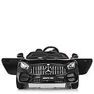 Детский электромобиль Mercedes M 4158EBLR-2 Черный Гарантия качества Быстрая доставка, фото 2