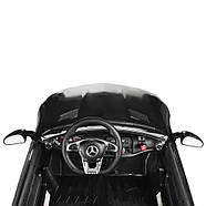 Детский электромобиль Mercedes M 4158EBLR-2 Черный Гарантия качества Быстрая доставка, фото 5