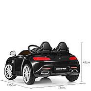 Детский электромобиль Mercedes M 4158EBLR-2 Черный Гарантия качества Быстрая доставка, фото 7