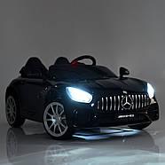 Детский электромобиль Mercedes M 4158EBLR-2 Черный Гарантия качества Быстрая доставка, фото 8