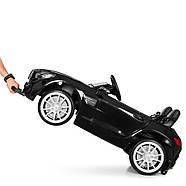 Детский электромобиль Mercedes M 4158EBLR-2 Черный Гарантия качества Быстрая доставка, фото 4
