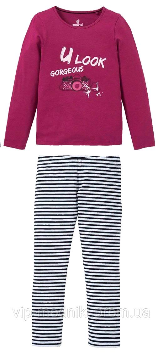 Пижамка для девочки от германского бренда pepperts.размер 122/128.