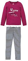 Пижамка для девочки от германского бренда pepperts.размер 122/128., фото 1