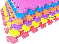 Коврик пазлы «Радуга», EVA, 1 элемент, 500×500×10мм, плотность 100кг/м³