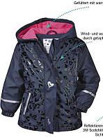 Куртка дождевик на флисе lupilu германия для девочки., фото 1
