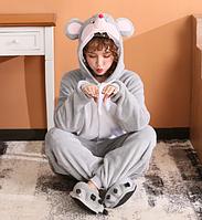 NEW! Кигуруми Мышка 2019 Оригинальная пижама мышь для взрослых и детей