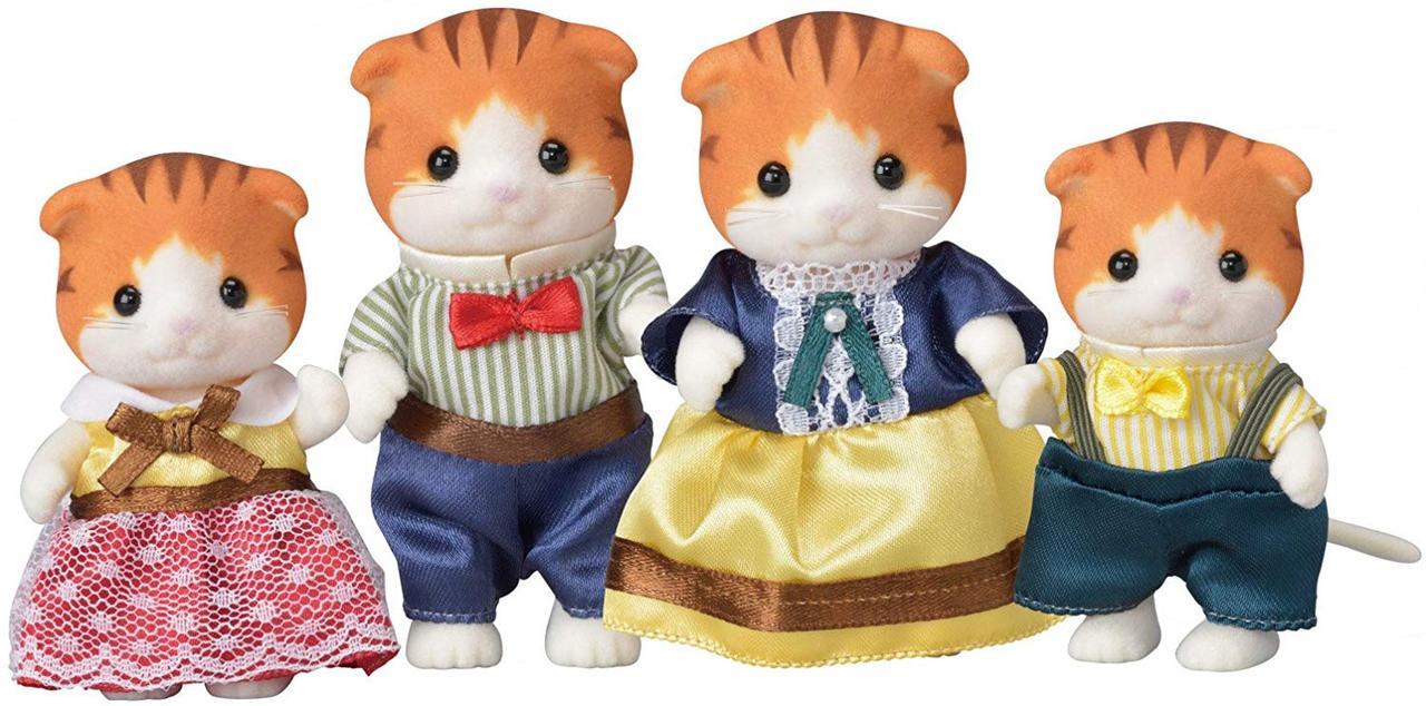 Сім'я рудих кленових кішок Sylvanian families