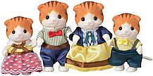 Семья рыжих кленовых кошек Sylvanian families