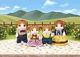 Сім'я рудих кленових кішок Sylvanian families, фото 3