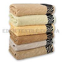 Махровое полотенце Hanibaba 50х90 Zebra, Желтый