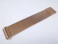 Ремешок для Samsung Gear 42 S2 Classic 20 мм Миланская петля Rose Gold (20386)