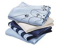 Пеленки упаковка из 5-ти шт. для мальчика .германия .lupilu.размер 78*78, фото 1