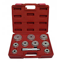Комплект оправок для установки подшипников и сальников универсальный(10 ед)  Heshitools HS-E2010
