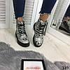 """Зимние женские ботинки """"Snake"""" питон эко кожа  //В НАЛИЧИИ ТОЛЬКО 37р, фото 5"""
