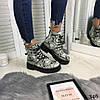 """Зимние женские ботинки """"Snake"""" питон эко кожа  //В НАЛИЧИИ ТОЛЬКО 37р, фото 7"""
