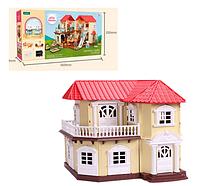 Дом для маленьких кукол или фигурок арт. S01 (аналог Sylvanian Families)