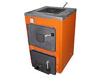 Твердотопливный котел Термобар АКТВ 12 (аппарат комбинированный с плитой)