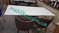 Стол раскладной обеденный Seattle (матовое стекло)