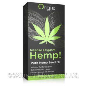 ORGIE Hemp Intense Orgasm 15ml. orgasm stimulating hemp oil NEW
